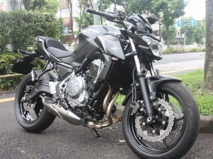 Z650 ABS 2017年モデル